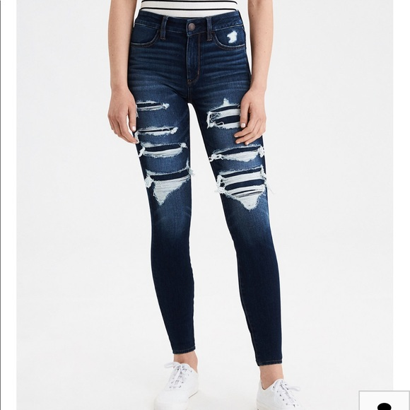 Mossimo Supply Co. Denim - NWOT mossimo ripped jean mid waisted straight jeg